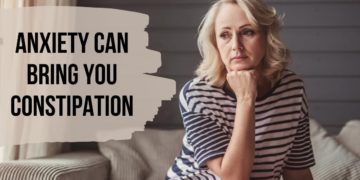 Why does anxiety cause Constipation?